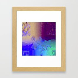 Crazy Matters Framed Art Print