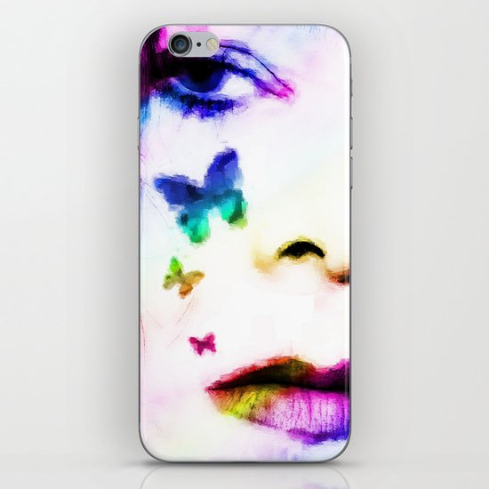 You Give me Butterflies... iPhone & iPod Skin