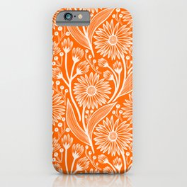 Marmalade Coneflowers iPhone Case