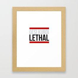 Lethal Framed Art Print