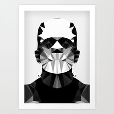 Polygon Heroes - The Horror Art Print