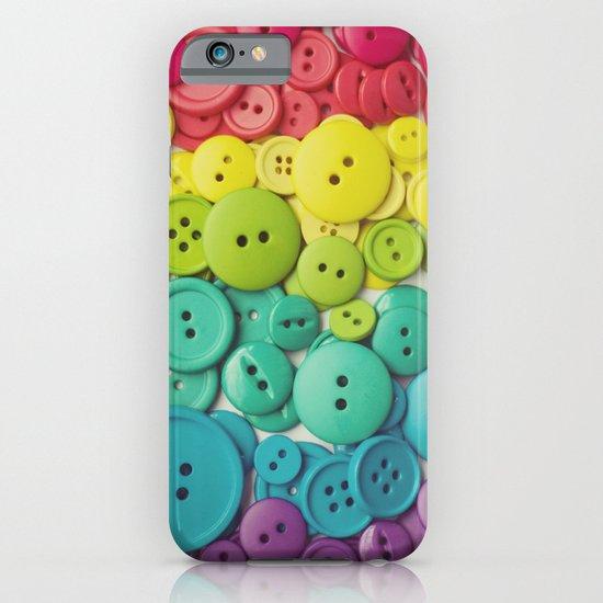 Cute as a button iPhone & iPod Case