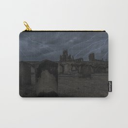 Whitby Abbey darkness Carry-All Pouch