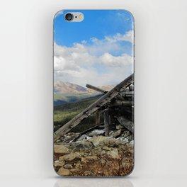 Man and Mountain iPhone Skin