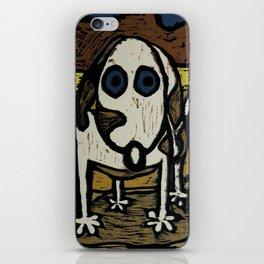 """""""Skippy visits Canyon lands iPhone Skin"""