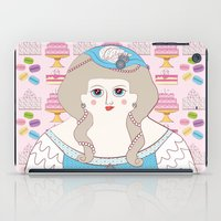 marie antoinette iPad Cases featuring Marie Antoinette by Late Greats