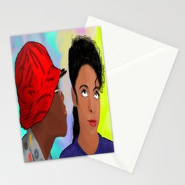 A Different World- Mr. Wayne and Ms. Gilbert Stationery Cards