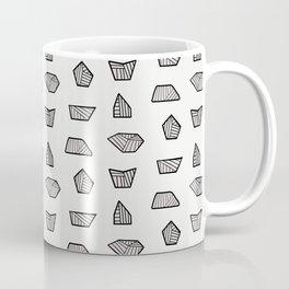 Abstract Rocks - Line Art Coffee Mug