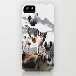 """The """"Town Musicians of Bremen"""" iPhone Case"""