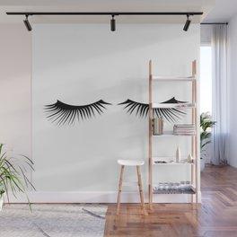 Eyelashes Wall Mural