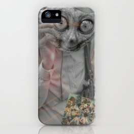 Person Pitched iPhone Case