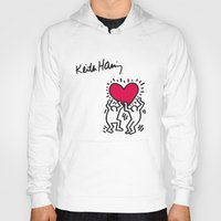 keith haring Hoodies featuring Keith Allen Haring Shirt by cvrcak