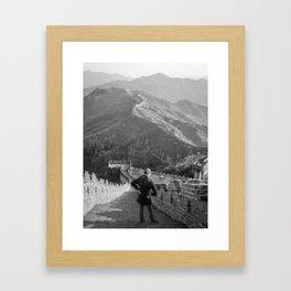 Great Wall - China Framed Art Print