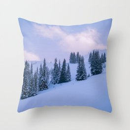 The Winter Woods Throw Pillow