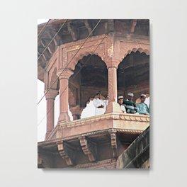 India Mosque Metal Print