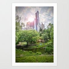 Central Park Dreams Art Print