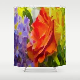 HUNTSVILLE FLOWERS Shower Curtain