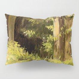 Woodland Landscape Nature Art Pillow Sham