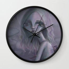 Pastel Sadness Wall Clock