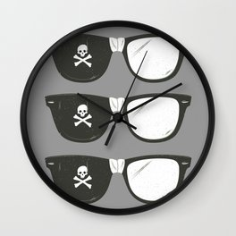 The Smartest Pirate Wall Clock