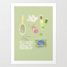 GIRLS STUFF Art Print
