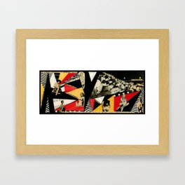 The Insatiable Female  Framed Art Print