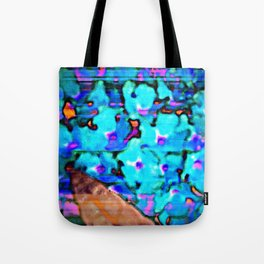 Blue Butterfly Bush  Tote Bag