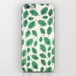 christmas tree pattern iPhone Skin