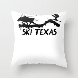 Cow Art for Women and Men Cattle Farmer Rancher Light Throw Pillow