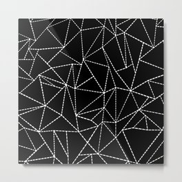 Ab Dotted Lines Metal Print