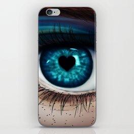 fallen in love iPhone Skin