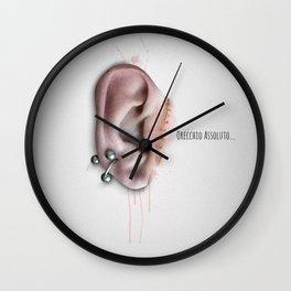 Orecchio Assoluto ... Wall Clock