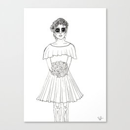 Dama Canvas Print