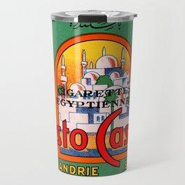 Christo Cassimis Egyptian Cigarettes Travel Mug