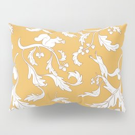 Squirrels and Acorns Pattern Pillow Sham