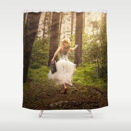 Book of Magic Shower Curtain