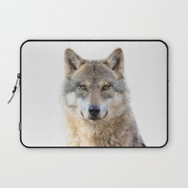 Wolf Portrait Laptop Sleeve