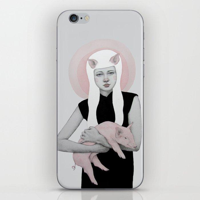 Peonia iPhone Skin