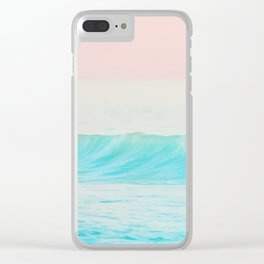 Pastel sea Clear iPhone Case