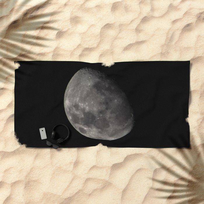 Quarter Moon Beach Towel