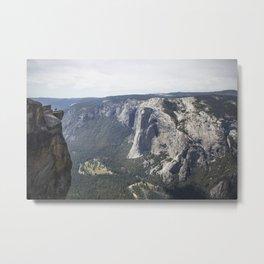 Yosemite El Capitan Metal Print