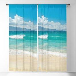 Hawaii Beach Treasures Blackout Curtain