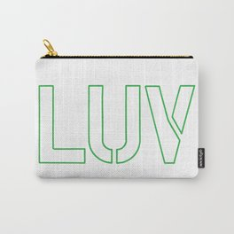 LUV Green Carry-All Pouch