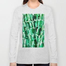 Green Sugarcane, Unripe Long Sleeve T-shirt