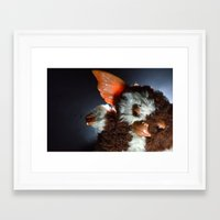 gizmo Framed Art Prints featuring Gizmo  by Erika VBL