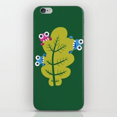 Bugs Eat Green Leaf iPhone & iPod Skin