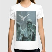 angel T-shirts featuring Angel by Lucia