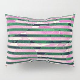 leaf stripe Pillow Sham