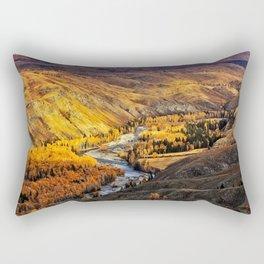 China Mountain Range Rectangular Pillow