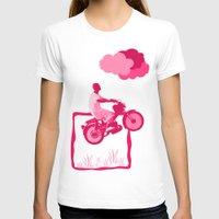 motorbike T-shirts featuring Motorbike Guy by Sergio Silva Santos